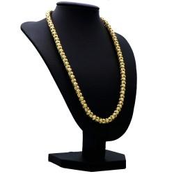 Damenkette aus wertvollen 585er Goldperlen (14 Karat) - 46 cm Länge