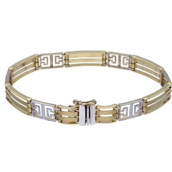 luxuriöses Goldarmband aus hochwertigem Gold (585, 14K) ca. 20cm Länge