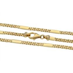 Herrenkette mit Eyecatcher-Effekt (Designermodell) aus  hochwertigem Gold 16,6g 14 Karat (585)