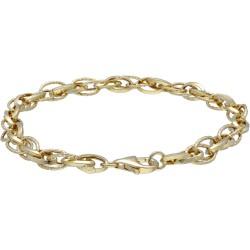 leichtes Damenarmband aus 14K-Gold 585er in 19 cm Länge