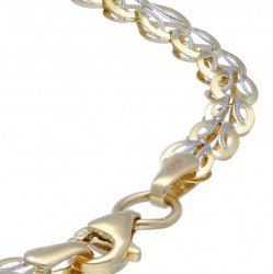 Feingliedriges, dünnes Goldarmband für Damen aus 585er Gold (14k)