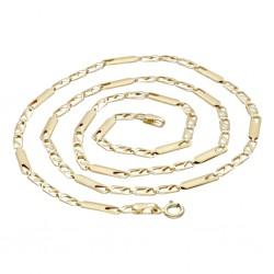 Schöne Goldkette 585 14k (ca. 3 mm breit, ca. 48 cm lang)