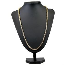 Königskette aus 585er Gelbgold (14k)- 66cm lang, 4 mm breit, 25,6g