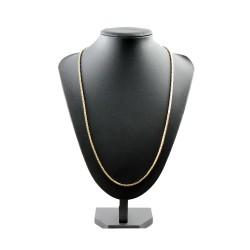 Goldene Königskette aus 14k (585) Gold in 70 cm Länge (2 mm breit) - EXTRALANG