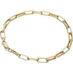 Ankerarmband aus 14K-Gold 585er in 23 cm Länge