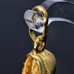 Fußballschuh-Goldanhänger (585er Gold 14k)