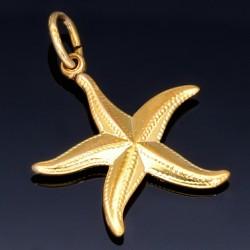 Seestern-Goldanhänger (585er Gold 14k)