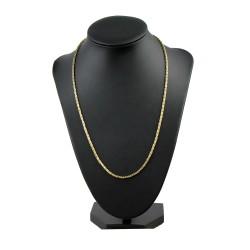 filigrane Königskette aus 14k-Gold 585 (50 cm lang, 2 mm breit)
