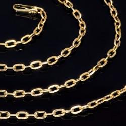 feine Goldkette 585 14k (55 cm lang, 2 mm breit)