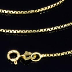lange Venezianerkette aus 585er Gelbgold (14 Karat) in 70 cm Länge