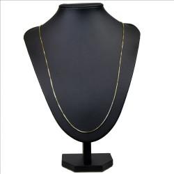 dünne Venezianerkette aus 585er Gelbgold (14 Karat) in 70 cm Länge