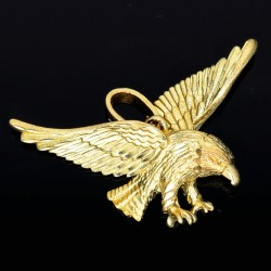 Adler-Goldanhänger (585er Gold 14k)