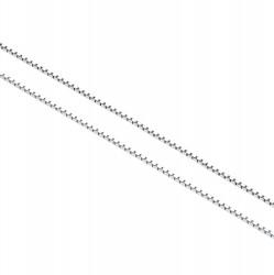 585 Venezianerkette aus 14K Weißgold - 38,5cm Länge