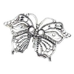einzigartiger Schmetterling -Anhänger aus Sterling Silber 925