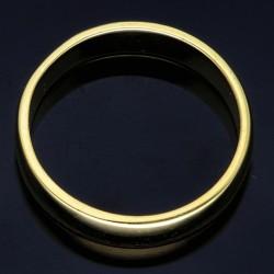 traumhaft, schöner Ehering / Trauring aus hochwertigem 585er Gelbgold (14k) Größe 59