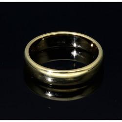 gelbgoldener Ehering / Trauring aus feinstem 585er Gold (14k) Größe 49