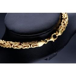 Königskette aus 585er Gelbgold (14k)- 60cm lang, 5 mm breit, 50g