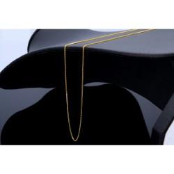 Sehr feine Venezianerkette aus 585 (14k) Gelbgold für Damen (45 cm Länge)