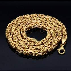 Königskette aus 585er Gelbgold (14k)- 66cm lang, 5 mm breit, 35g