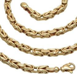 Königskette aus 585er Gelbgold (14k)- 66cm lang, 4 mm breit, 24g