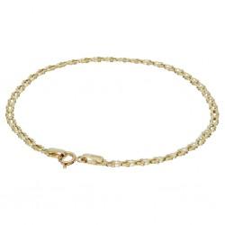 Gelbgoldenes Damen-Armband aus 14k (585er) in 19,5 cm Länge