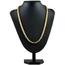 Königskette aus 585er Gelbgold (14k)- 60cm lang, 5 mm breit, 32g