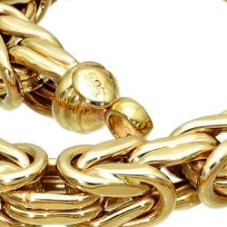 Dicke Königskette aus echtem 585er Gold (14 K)  (ca. 55g, 66cm, 6mm)