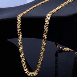 Elegantes Damencollier/Kette in hochwertigem 750/18K Gelbgold