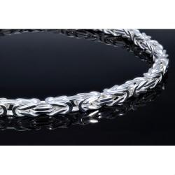 gigantische 8,5mm dicke Sterling-Silber Königskette 70cm Länge, ca. 275g