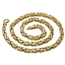 Sonderanfertigung - Königskette aus echtem 585er Gold (14 K)  (ca. 56g, 62 cm, 7mm)