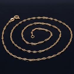 filigrane Designer - Halskette aus hochwertigem 750er 18K Gelbgold in Handarbeit hergestellt