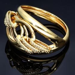 Wunderschöner, filigran, verzierter Designer - Ring in 585 14K Gold 55RG
