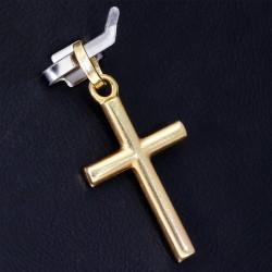 Kreuzanhänger aus hochwertigem Gold 14k (585er)
