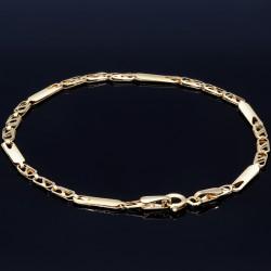 GlänzendesDamen-Armband aus 14k (585er) in 17,3 cm Länge