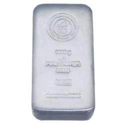1 Kg Feinsilberbarren 999,9 (1000g) Heimerle + Meule (Vermittlung eines Verkaufes aus Privatbestand)