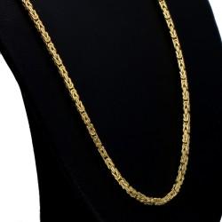 kurze Königskette aus 14k-Gold 585 (45 cm lang, 2 mm breit)