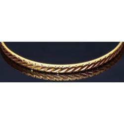 eleganter Armreif aus hochwertigem 585er (14 Karat) Gold